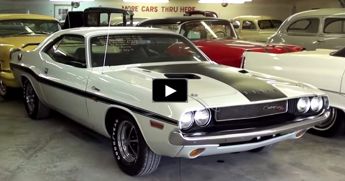 dodge challenger muscle car