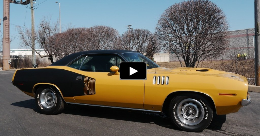 NICE 1971 PLYMOUTH BARRACUDA 340 V8 MUSCLE CAR | HOT CARS