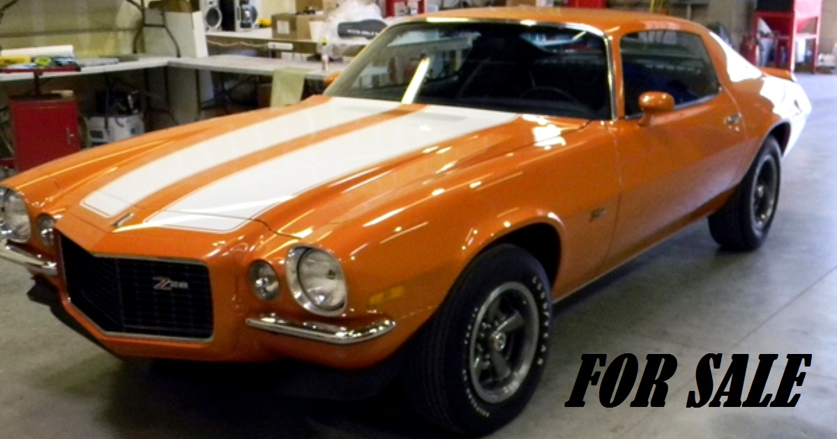 1973 camaro muscle car for sale
