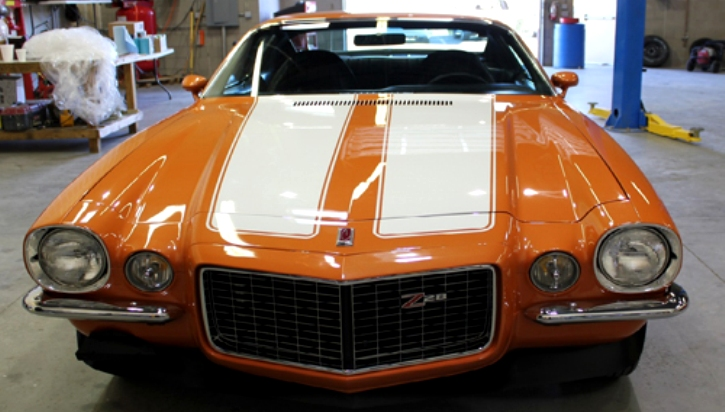 1973 Chevy Camaro Z28 Rs Muscle Car For Sale Hot Cars