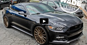 custom 2015 ford mustang on hot cars