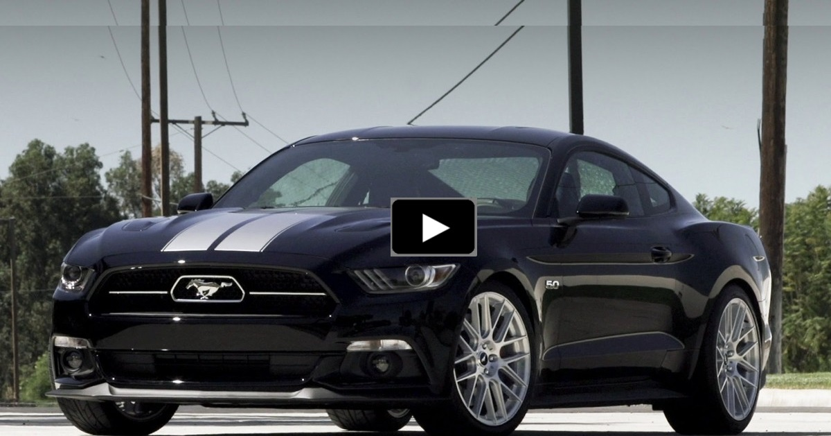 slick 2015 mustang gt 50th anniversary edition hot cars. Black Bedroom Furniture Sets. Home Design Ideas
