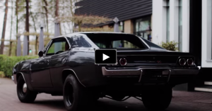 1968 dodge charger muscle car