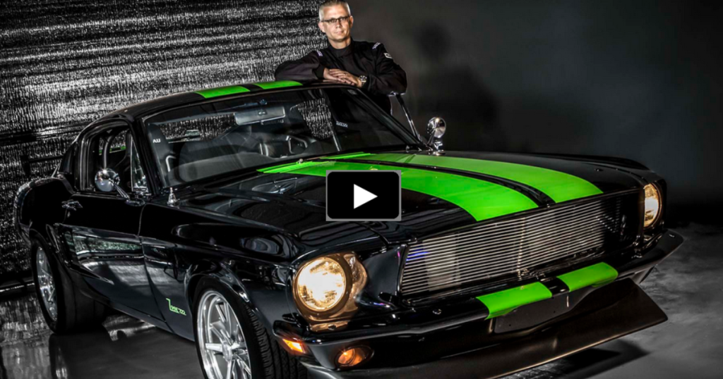 The All Electric 800hp Ford Mustang Zombie 222 Hot Cars