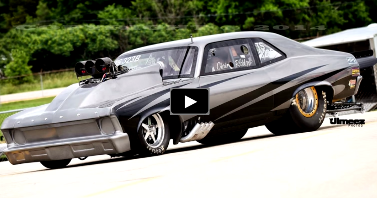 blown chevy nova on hot cars