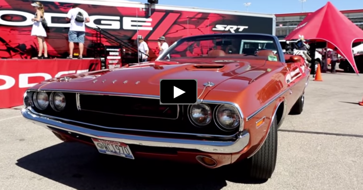 dodge challenger convertible muscle cars