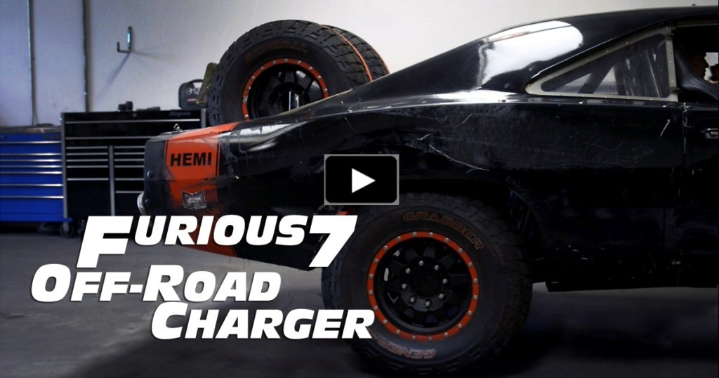 Fast And Furious Cars For Sale >> THE BRUTAL OFF ROAD DODGE CHARGER IN FURIOUS 7 | HOT CARS