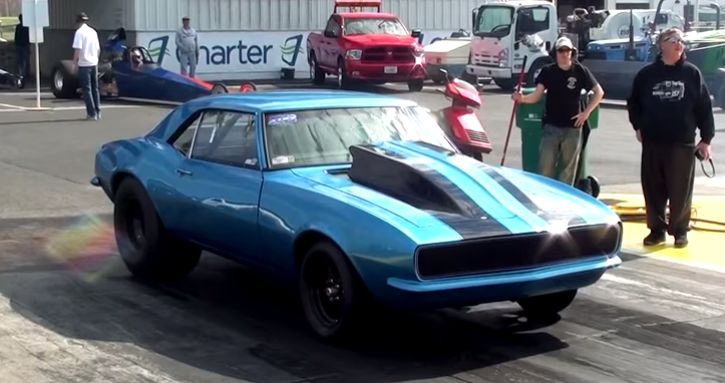 9 seconds chevy camaro on hot cars
