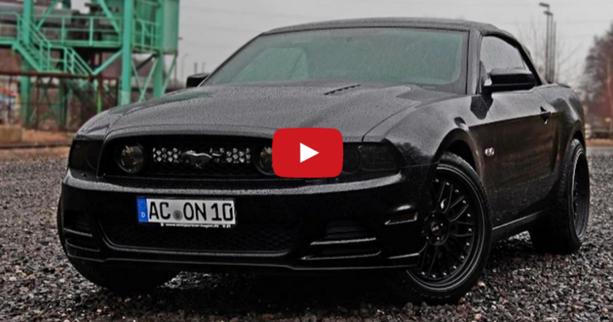 ford mustang gt flowmaster on hot cars