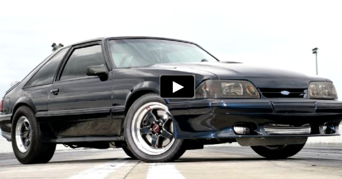 8 seconds turbo saleen mustang