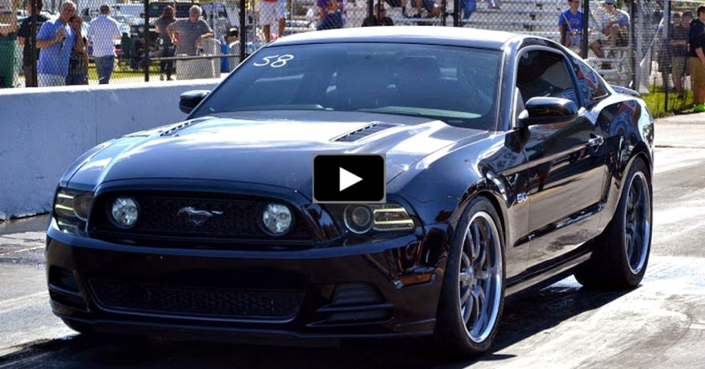 Twin Turbo Ford Mustang Gt Runs 8 Seconds Hot Cars
