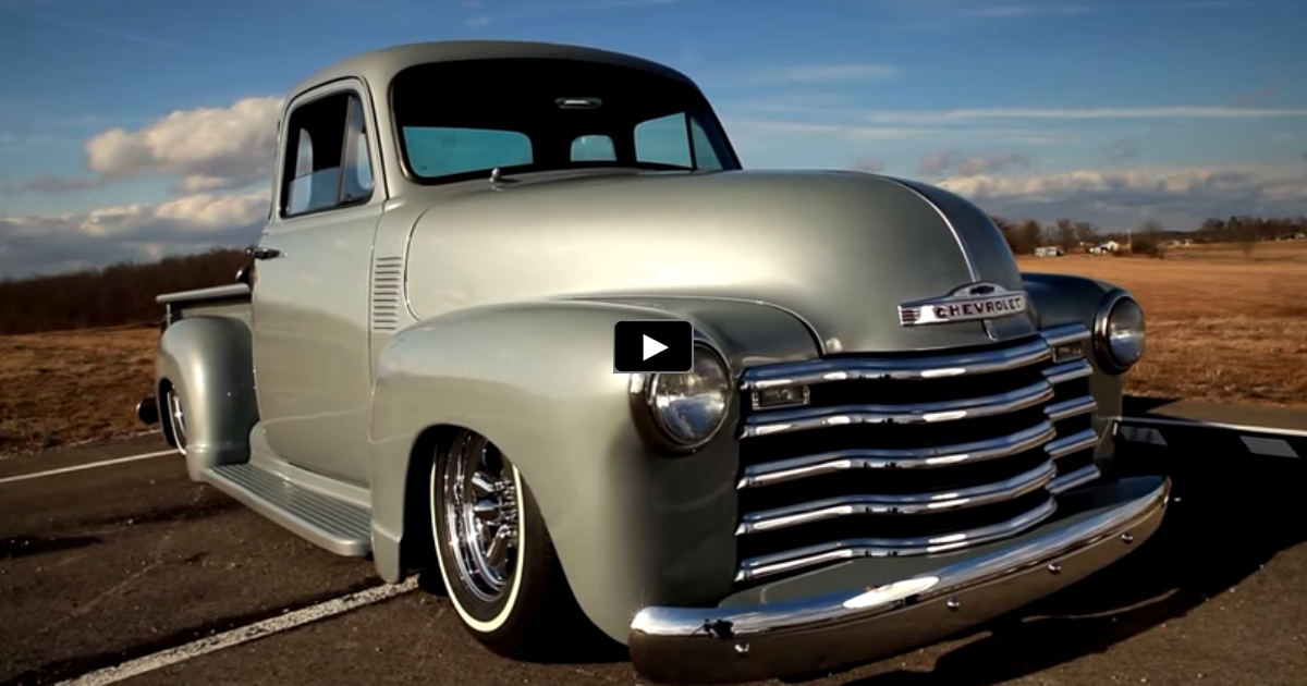custom chevy pick up truck on hot cars