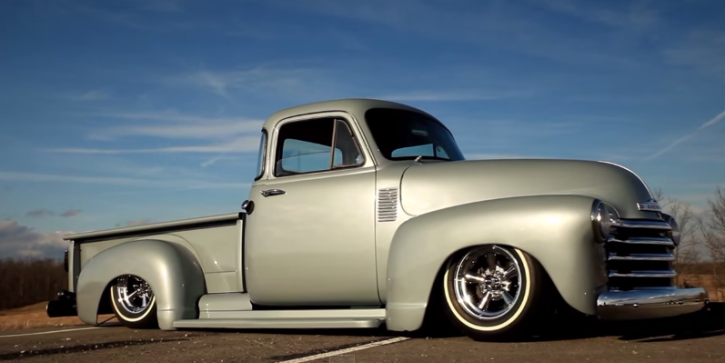 chevrolet pick up truck custom on hot cars