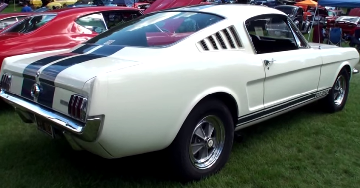 original 1965 ford mustang shelby gt350 on hot cars