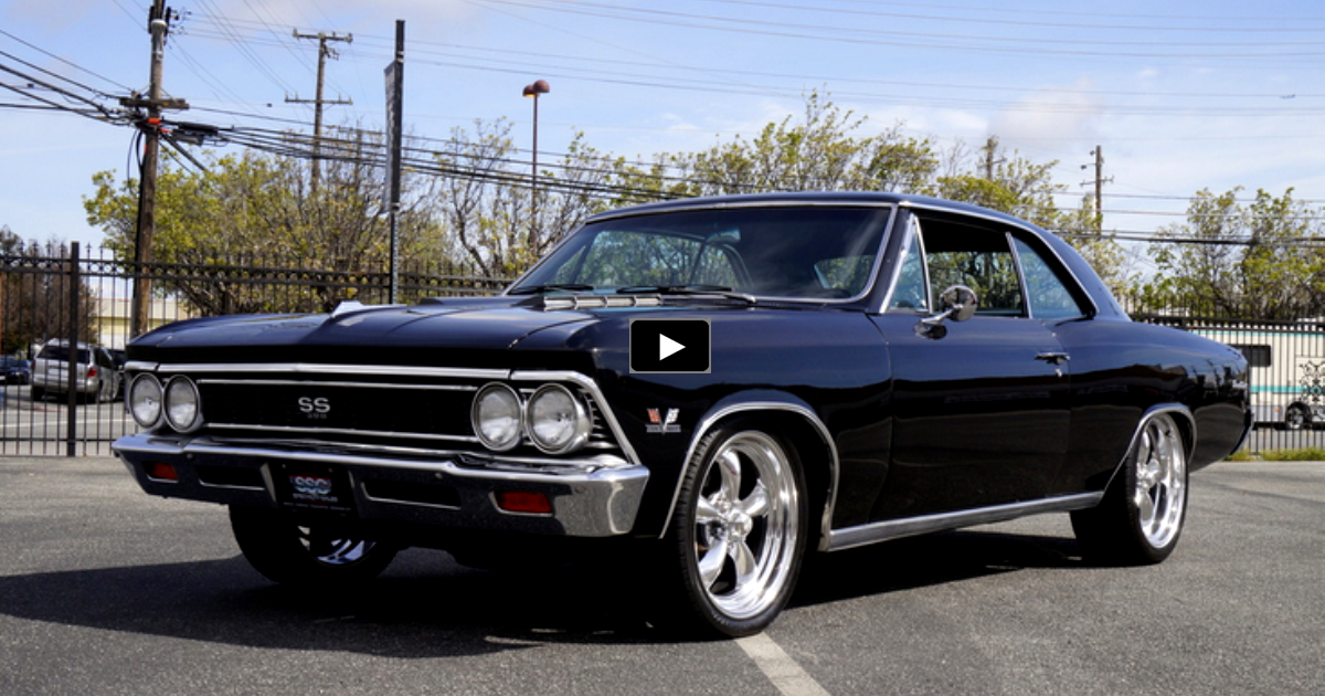 1966 chevy chevelle 454 muscle car