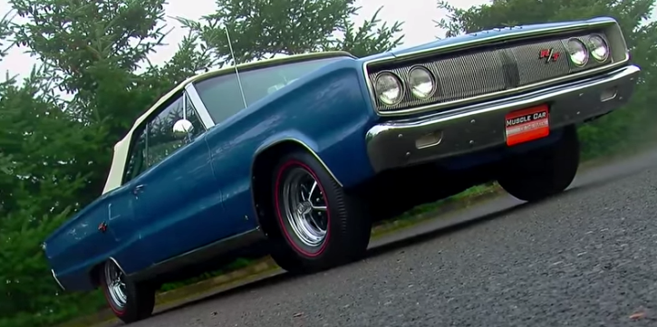 1967 dodge coronet rt convertible on hot cars