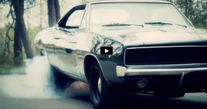 1968 dodge charger rt burnouts on hot cars