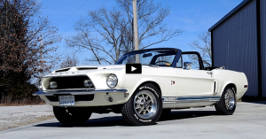 original 1968 mustang shelby gt500kr convertible on hot cars