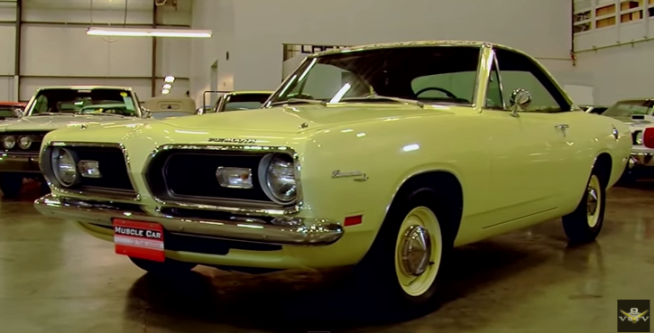 1969 Plymouth Barracuda Mod Top muscle car