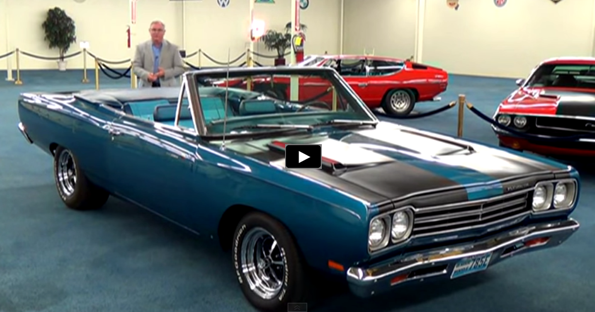 1969 plymouth road runner 383 convertible on hot cars