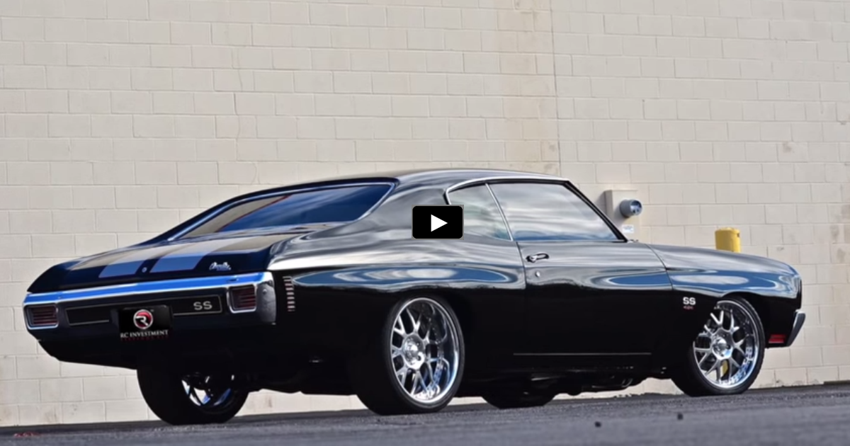 big block chevrolet chevelle muscle car
