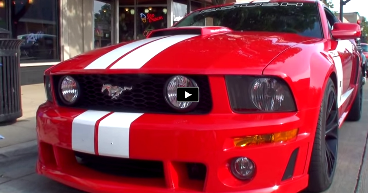 2006 ford mustang roush stage 3 on hot cars
