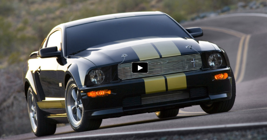 UNIQUE 2006 FORD MUSTANG HERTZ SHELBY GT-H | HOT CARS