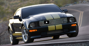 2006 mustang shelby hertz gt-h rental car