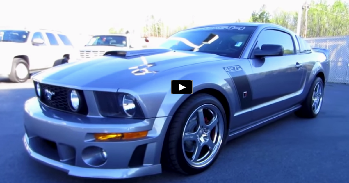 2007 ford mustang roush review on hot cars