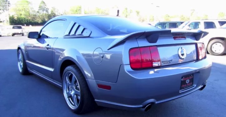 2007 ford mustang roush on hot cars