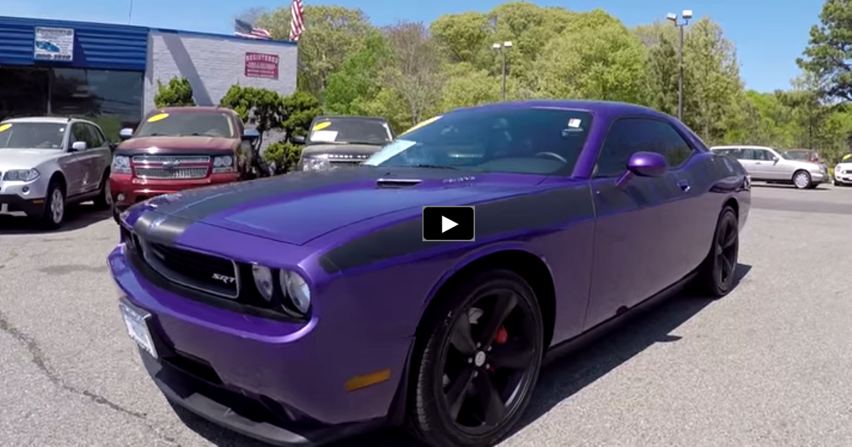 plum crazy 2010 dodge challenger srt8 on hot cars