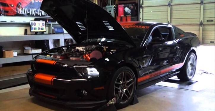 800hp ford mustang gt500 custom muscle car