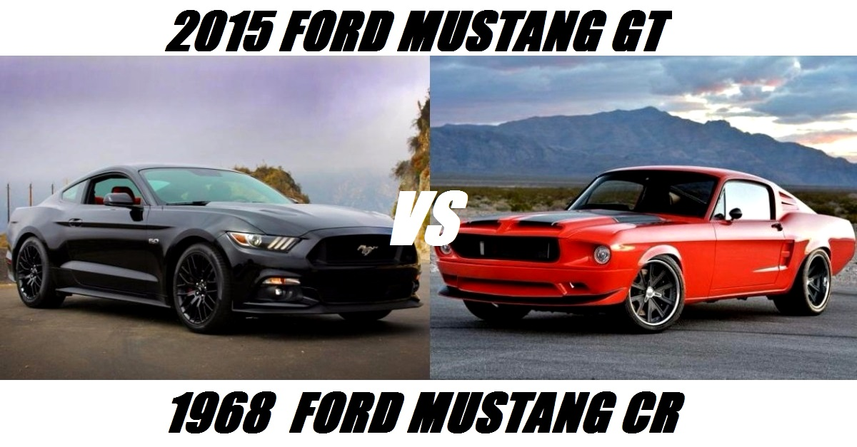 new mustangs vs pro touring mustangs on hot cars