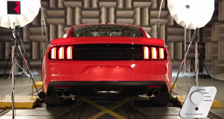2015 mustang roush stage 3 active exhaust system