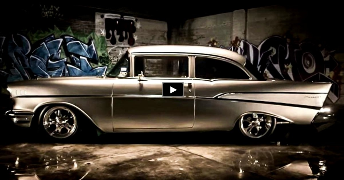 1957 chevy bel air restomod on hot cars