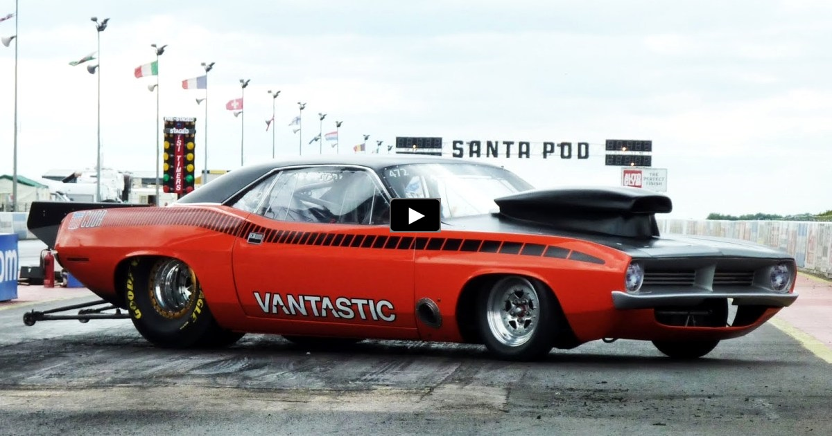 8 second pro stock aar cuda on hot cars