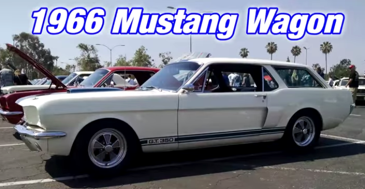 custom ford mustang shelby gt350 station wagon