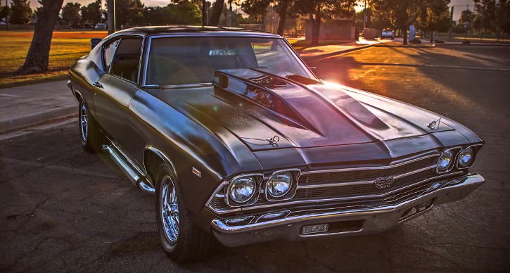 1969 chevy chevelle ss build