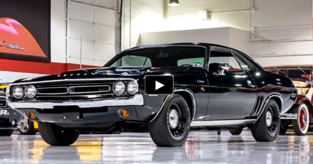 EXTREMELY RARE 1971 DODGE CHALLENGER R/T HEMI | HOT CARS