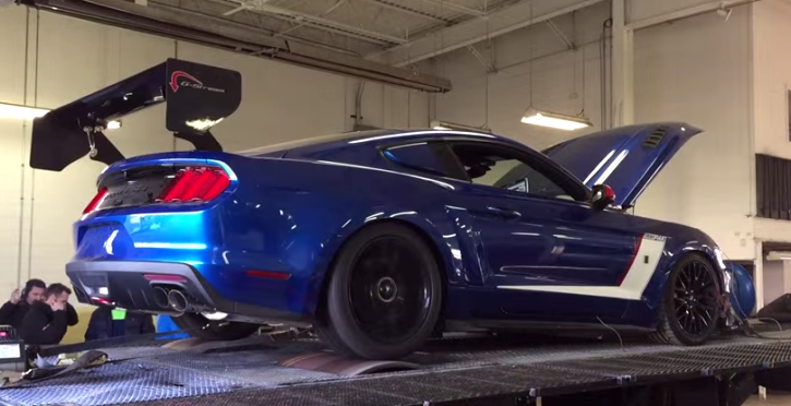 roush supercharged 2015 ford mustang