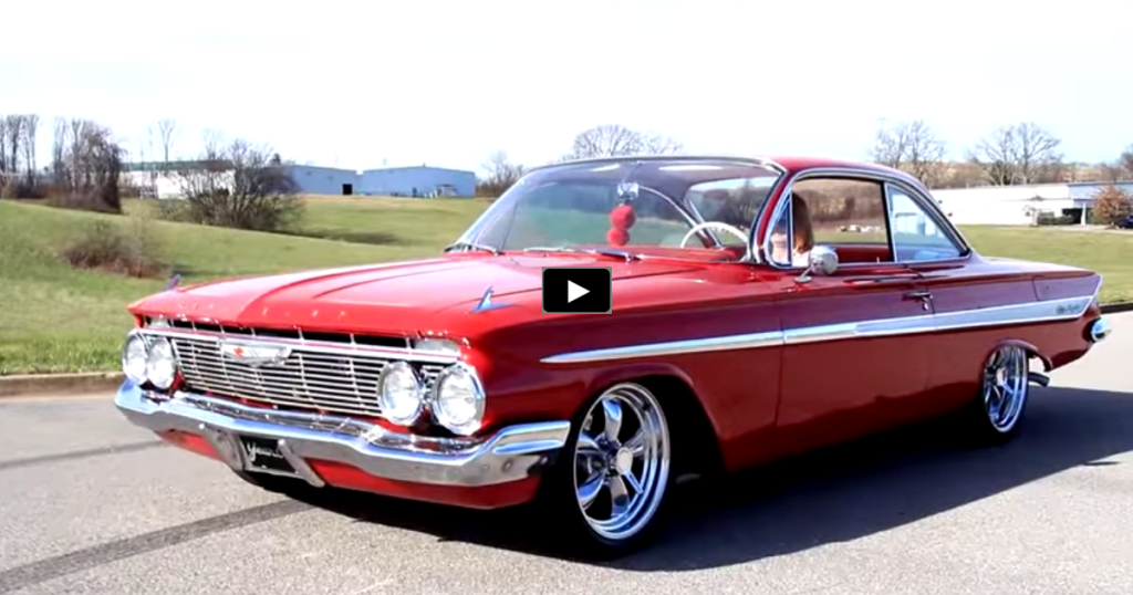 Spectacular 1961 Chevrolet Impala 350 Custom Hot Cars
