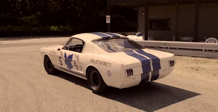 restored 1965 mustang shelby gt350 r on hot cars
