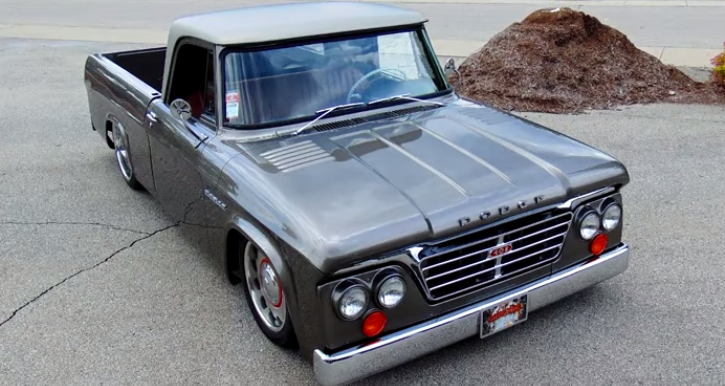 1965 dodge d100 sweptline custom truck