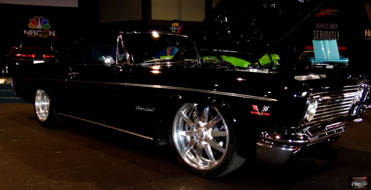custom 1966 chevy impala ss 427 on hot cars