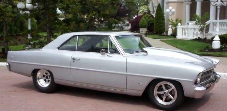 restored 1967 chevy nova ss on hot cars