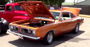 restored 1967 plymouth barracuda on hot cars