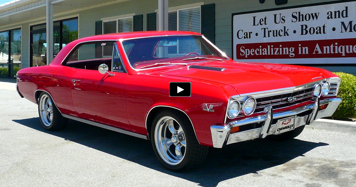 restored original 1967 chevy chevelle ss on hot cars