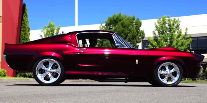 incredible 1967 ford mustang eleanor built hot cars. Black Bedroom Furniture Sets. Home Design Ideas