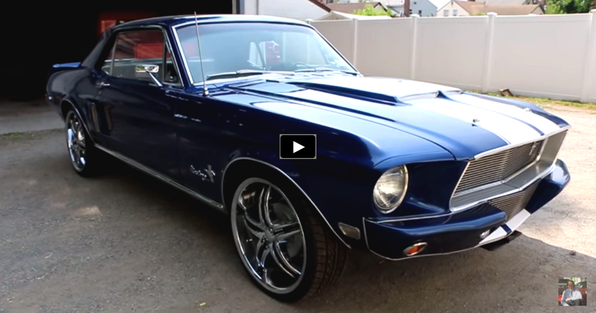 eleanor style 1968 ford mustang resto-mod