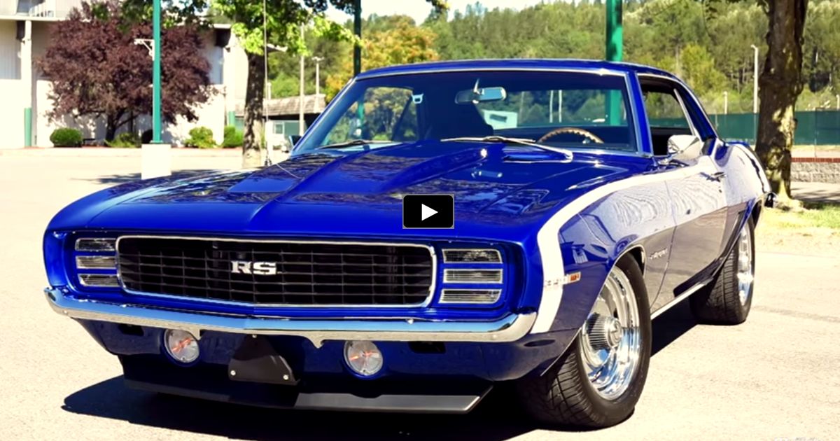 1969 chevrolet camaro rs test drive on hot cars
